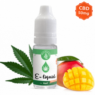 CBD E-liquid 1%, Mango Kush 10ml